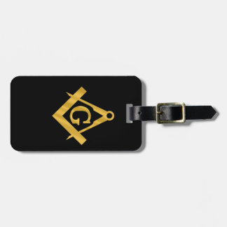 "Masonic ""Mason for Life"" Luggage Tag"