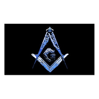 Masonic Minds (Blue) Pack Of Standard Business Cards