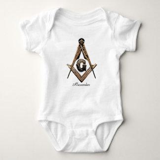 Masonic Minds (Golden) Baby Bodysuit