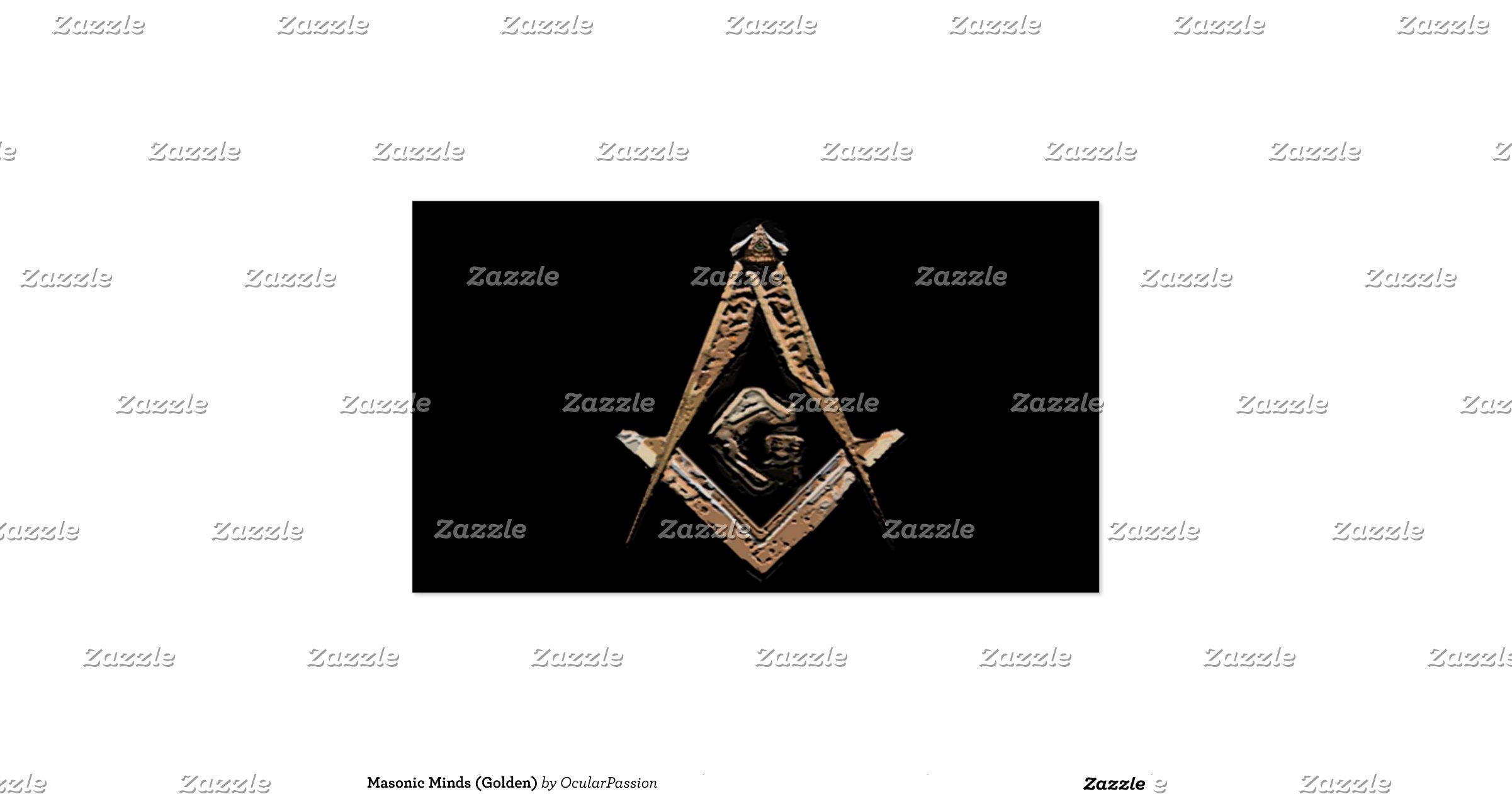 Masonic Minds Golden Pack Standard Business Cards