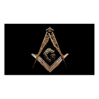 Masonic Minds (Golden) Pack Of Standard Business Cards