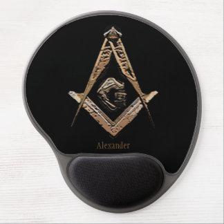 Masonic Minds (Golden) Gel Mouse Mat