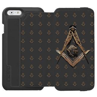 Masonic Minds (Golden) Incipio Watson™ iPhone 6 Wallet Case