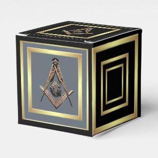 Masonic Minds (Golden) Party Favour Box