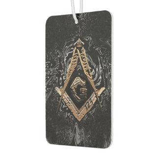 Masonic Minds (GoldenSwish) Car Air Freshener