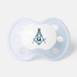 Masonic Minds (Light Blue) Pacifiers