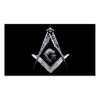 Masonic Minds (Silvery) Pack Of Standard Business Cards