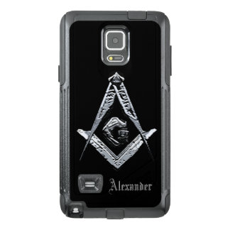 Masonic Minds (Silvery) OtterBox Samsung Note 4 Case