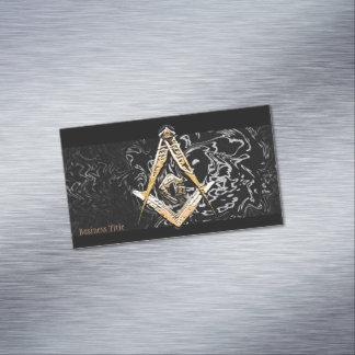 Masonic Minds (Swish) Magnetic Business Cards