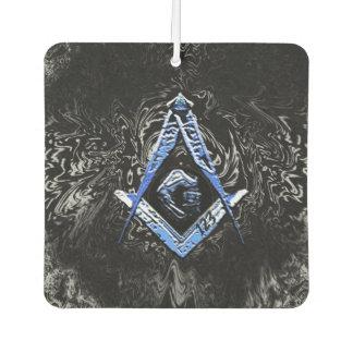 Masonic Minds (SwishBlue) Car Air Freshener