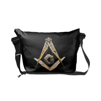 Masonic Minds (Yellowish) Courier Bags