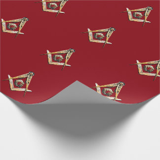 Masonic Minds (Yellowish) Wrapping Paper