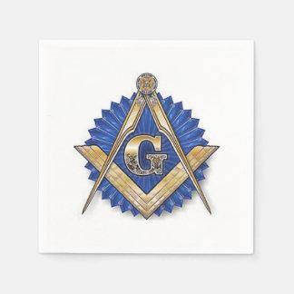 Masonic Napkins Paper Napkin