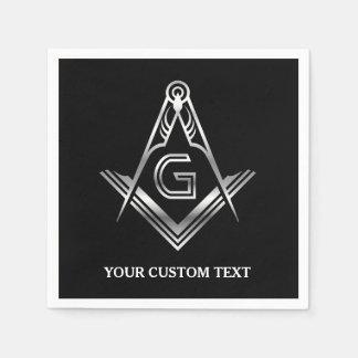 Masonic Party Supplies | Personalized Napkins Disposable Serviette