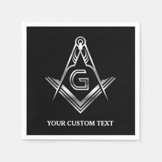 Masonic Party Supplies | Personalized Napkins Paper Napkin