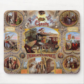 Masonic Poster Mouse Pad