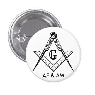 masonic pride 3 cm round badge