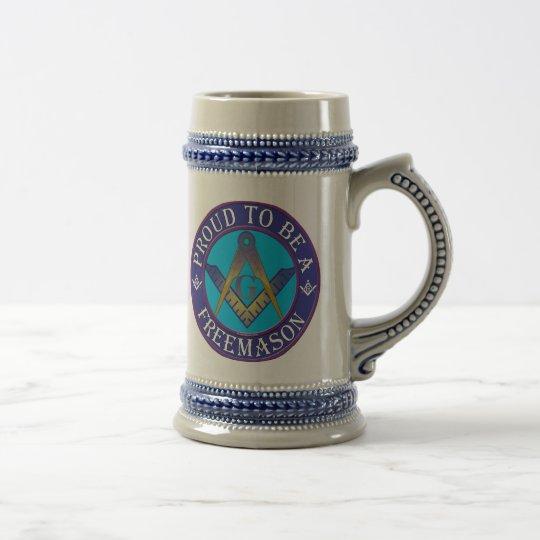 Masonic Pride Beer Stein