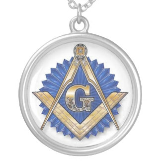 Masonic Pride Silver Plated Necklace