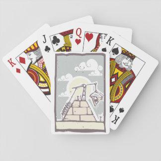 Masonic Pyramid Playing Cards