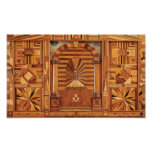 Masonic Royal Arch Tracing Board Posters