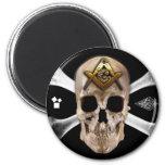 Masonic Skull & Bones Compass Square