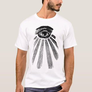 masonic, square and commpass, freemason 1 T-Shirt