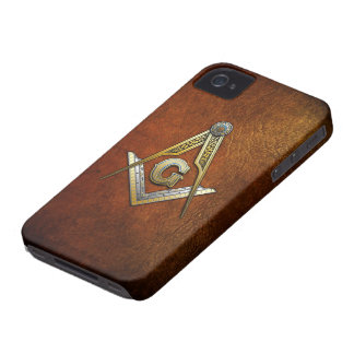 Masonic Square and Compasses Case-Mate iPhone 4 Case