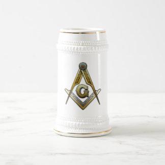 Masonic Square and Compasses Coffee Mugs