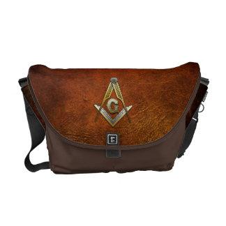 Masonic Square and Compasses Messenger Bag