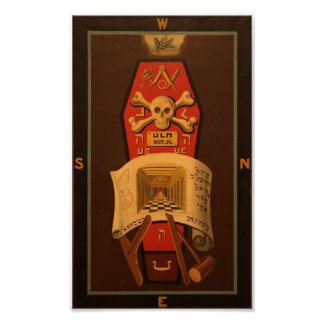 Masonic Tracing Board - Master Mason 2 Poster