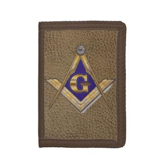 Masonic Tri-fold Wallet