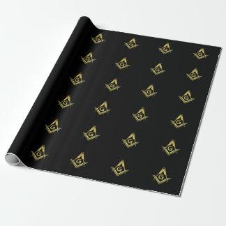 Masonic Wrapping Paper | Freemason Gift