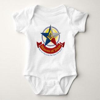 Masons of Texas Baby Bodysuit