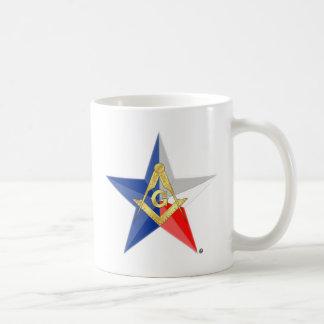 """Masons of Texas """"Star Line"""" Coffee Mug"""