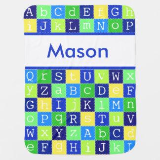 Mason's Personalized Blanket Receiving Blanket