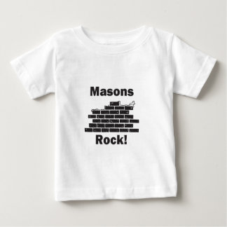 Masons Rock Baby T-Shirt