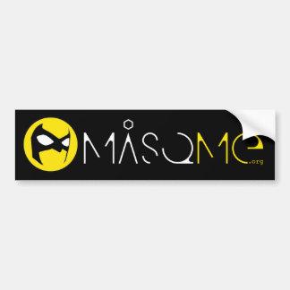 MasqMe Bumper Sticker