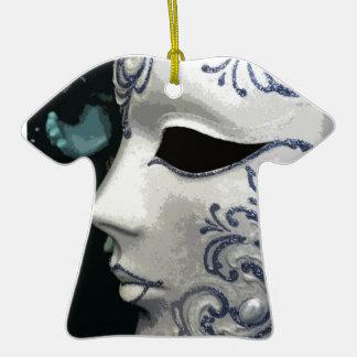 MASQUERADE 2 (blue) Ceramic T-Shirt Decoration