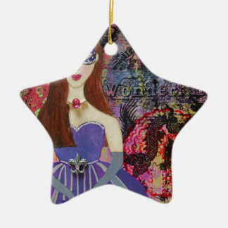 Masquerade Ball Christmas Ornament