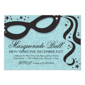 """Masquerade Ball Invitations 5"""" X 7"""" Invitation Card"""