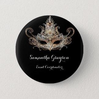 Masquerade Ball Name Badge