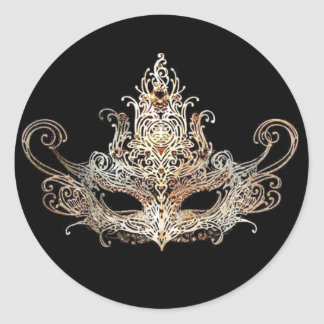 Masquerade Ball Stickers