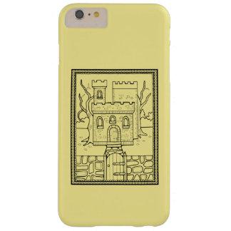 Masquerade Castle Line Art Design Barely There iPhone 6 Plus Case
