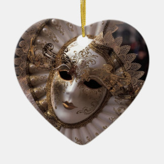 Masquerade Christmas Ornament