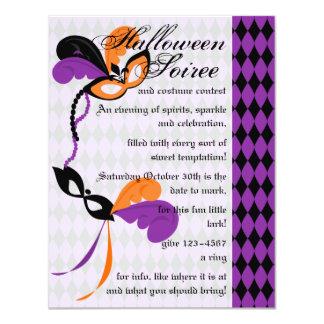 Masquerade Gala Card