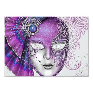 Masquerade Mardi Gras Party Invitations