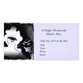 Masquerade Mardi Gras Picture Card