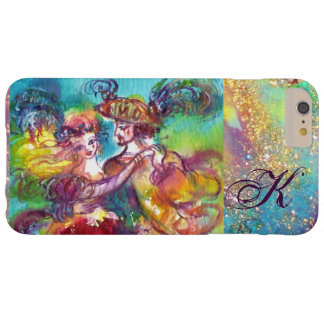 MASQUERADE NIGHT / CARNIVAL DANCE MONOGRAM BARELY THERE iPhone 6 PLUS CASE