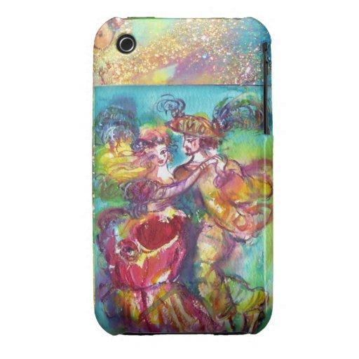 MASQUERADE NIGHT / CARNIVAL DANCE MONOGRAM iPhone 3 COVER